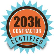 203k certified contractor logo